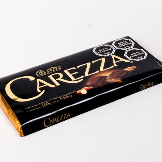 Chocolate Carezza Almendra 160 grs