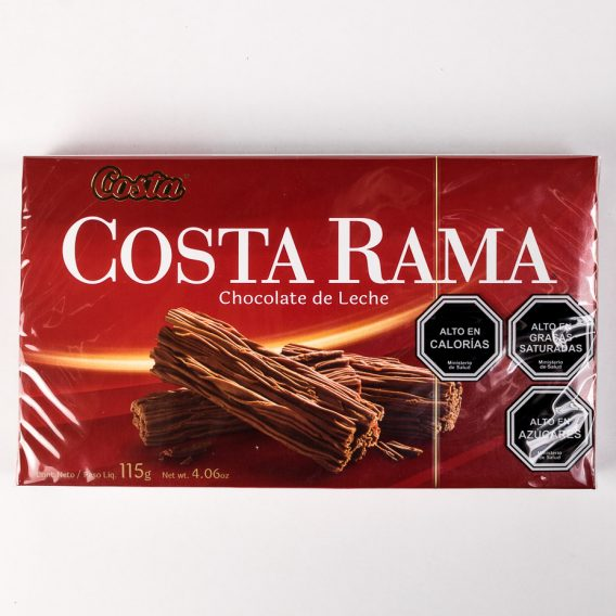 Chocolate Costa Rama 115 grs