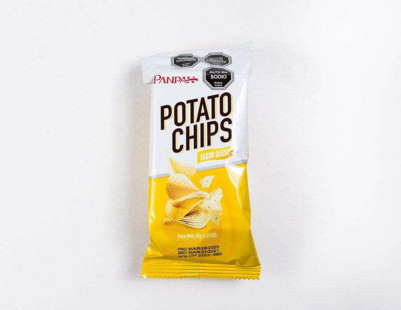 Potato Chips queso 35 grs