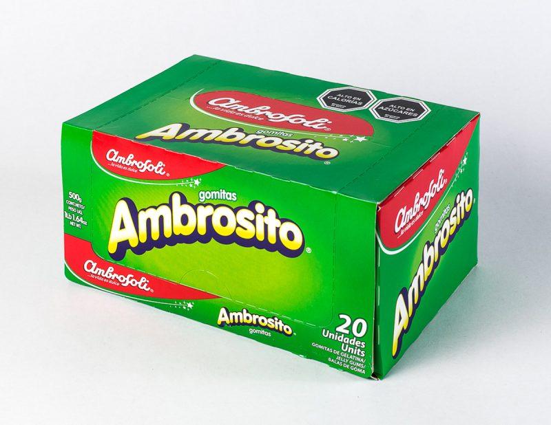 Gomita Ambrosoli Ambrosito 20 unid