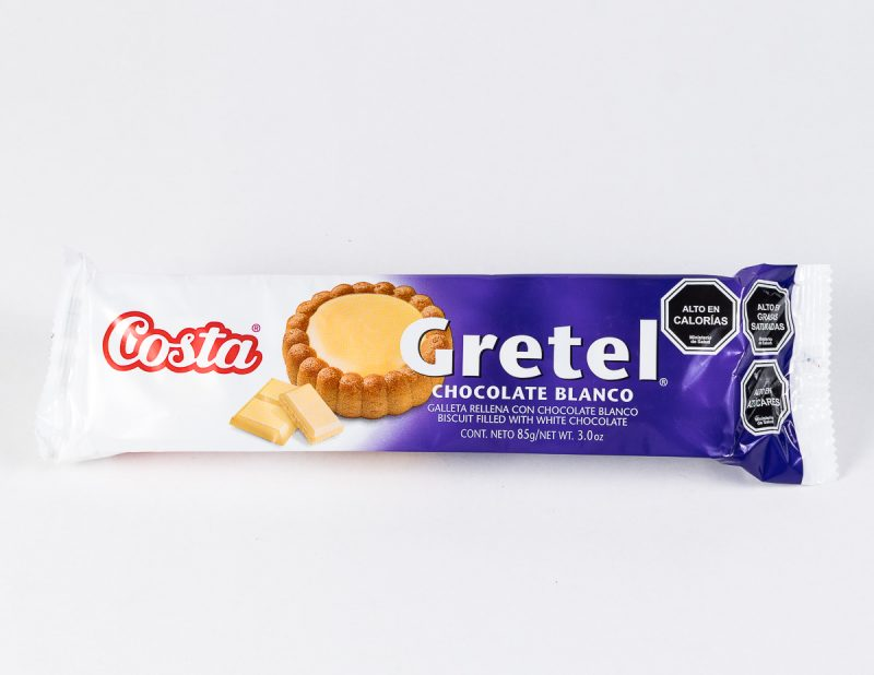 Galleta Gretel Chocolate Blanco 85 grs