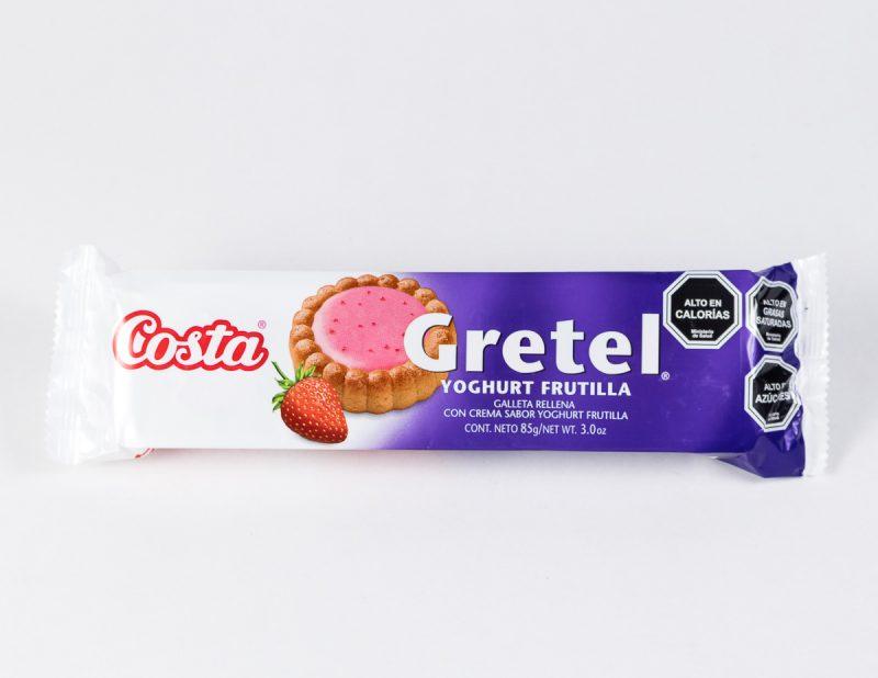 Galleta Gretel Frutilla 85 grs
