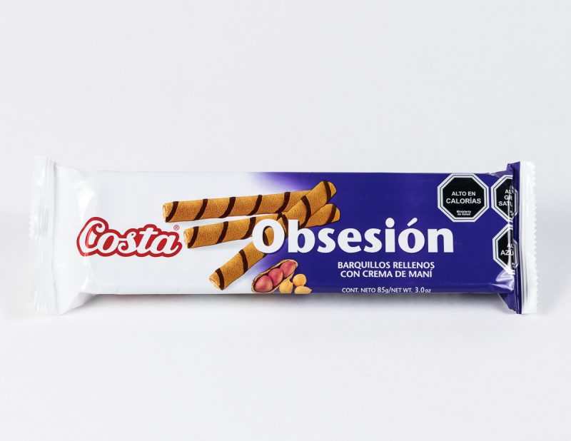 Galleta Obsesión maní 85 grs