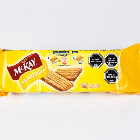 Galleta Mckay mantequilla 140 grs