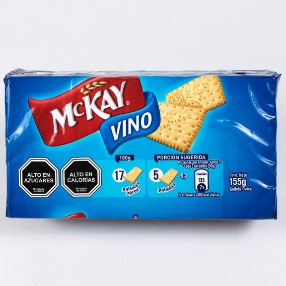 Galleta Vino Mckay 155 grs