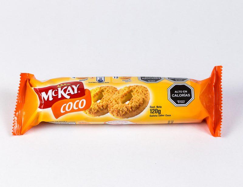 Galleta Mckay Coco 120 grs