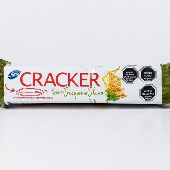 Galleta Cracker Oregano 107 grs