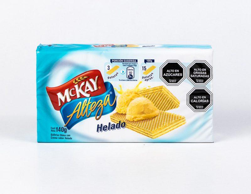 Galleta Alteza helado 140 grs