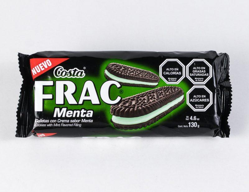 Galleta Frac menta 130 grs