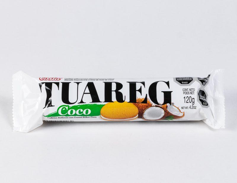 Galleta Tuareg coco 120 grs