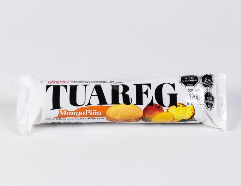Galleta Tuareg mango piña 120 grs