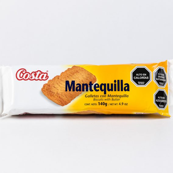 Galleta Costa Mantequilla 140 grs