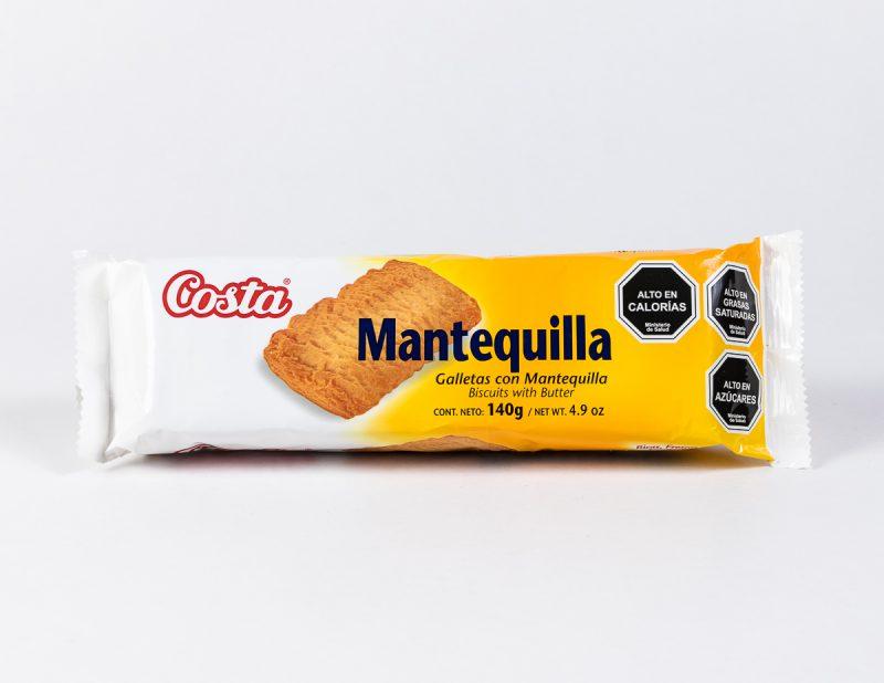 Galleta Costa Mantequilla 140 grs